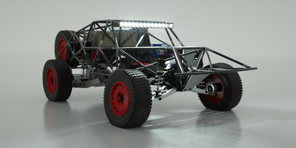 Custom RC Trophy Truck – VisualRealms
